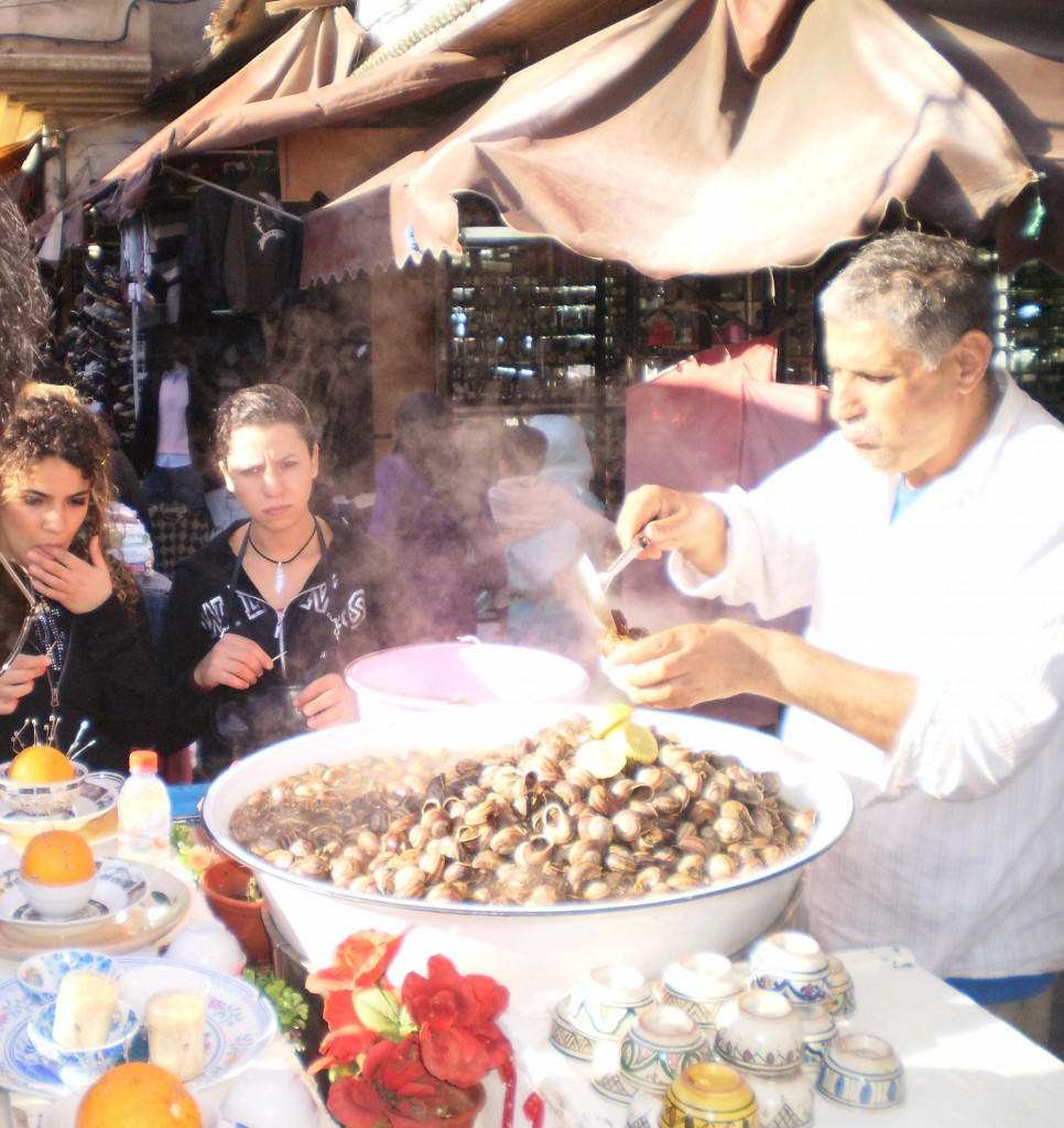 morocco food snails