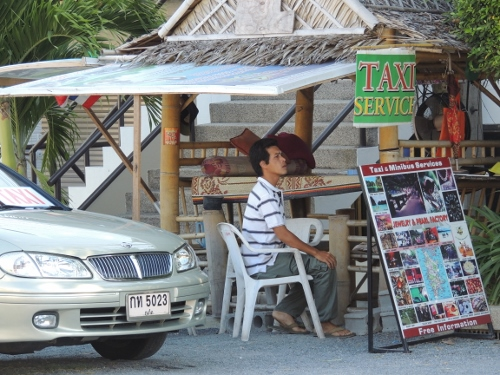 thailand taxi stand