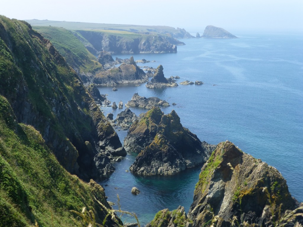 Abercastle rock islands. Photo: Andrew Green